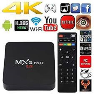 MXQ PRO ANDROID BOX complete overview
